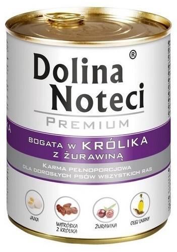 DOLINA NOTECI Premium Królik z Żurawiną 800 g