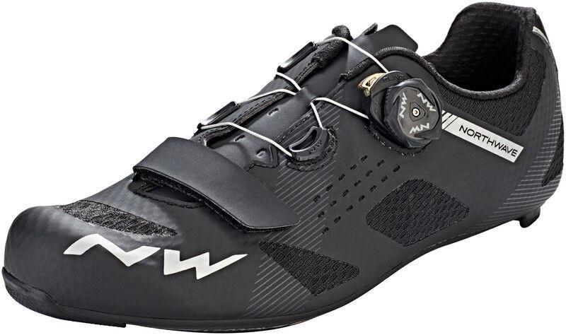 Northwave Storm Carbon Buty Mężczyźni, black EU 45 2020 Buty szosowe zatrzaskowe 80191011-10-45