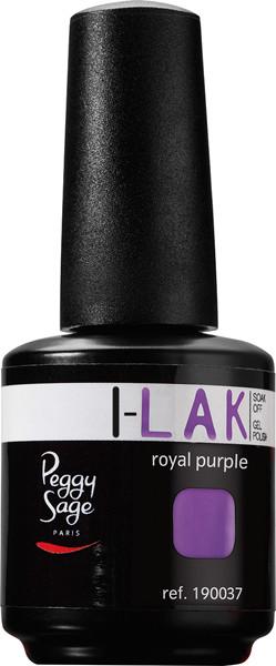 Peggy Sage I-LAK lakier hybrydowy do paznokci - royal purple - 15ml - ( ref. 190037)