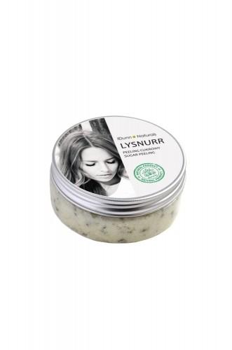 Idunn Naturals Peeling cukrowy do twarzy z liśćmi i ekstraktem zielonej herbaty G504