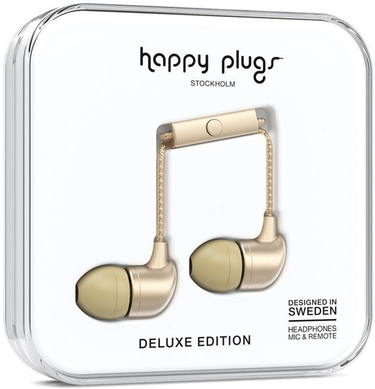 Happy Plugs In-Ear Champagne (SAS-HA100)