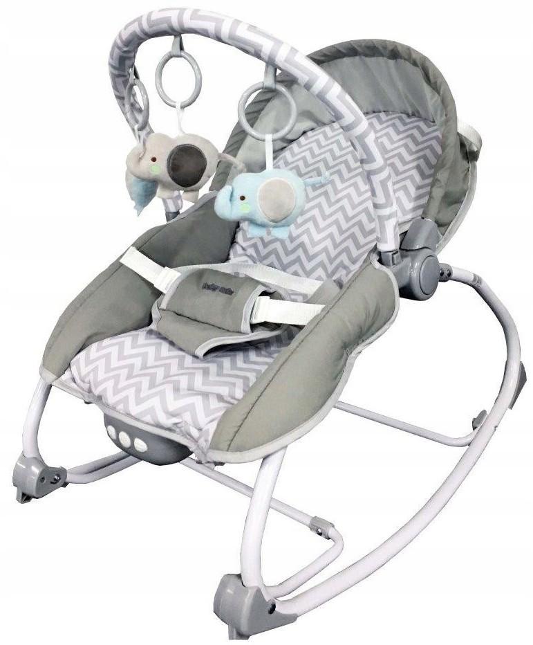Baby Mix Leżaczek bujaczek krzesełko BR212-18 Jode