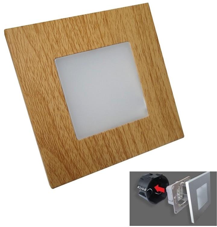 Luxera 48307 - Oprawa schodowa LED STEP LIGHT 16xLED SMD/1W/230V
