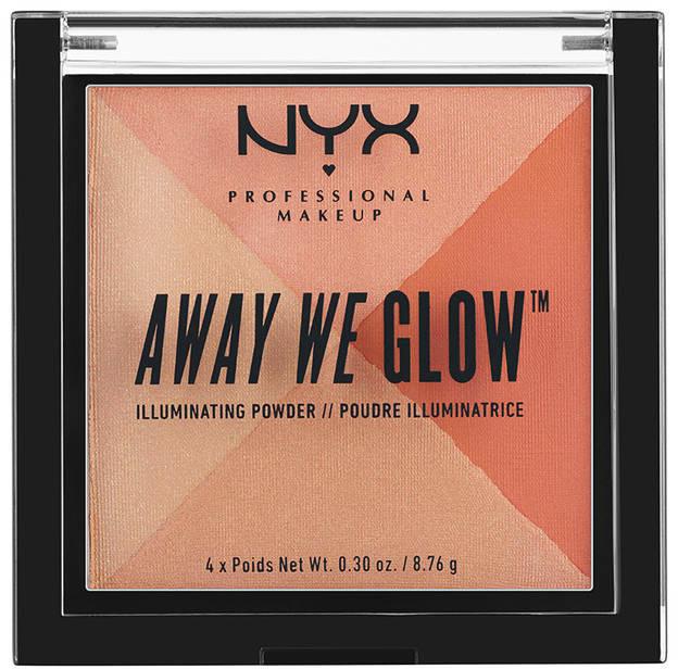 NYX Professional Makeup NYX Professional Makeup - AWAY WE GLOW - ILLUMINATING POWDER - Rozświetlacz do twarzy - 03 CANDLELIT NYXWIRTW-DOTW-02