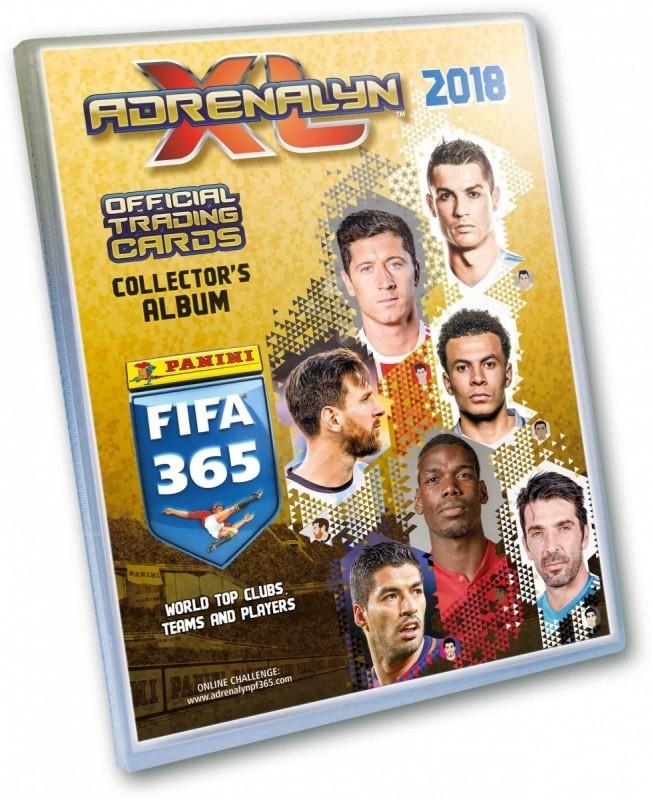 Panini FIFA 365 Adrenalyn XL 2018 Album kolekcjonerski