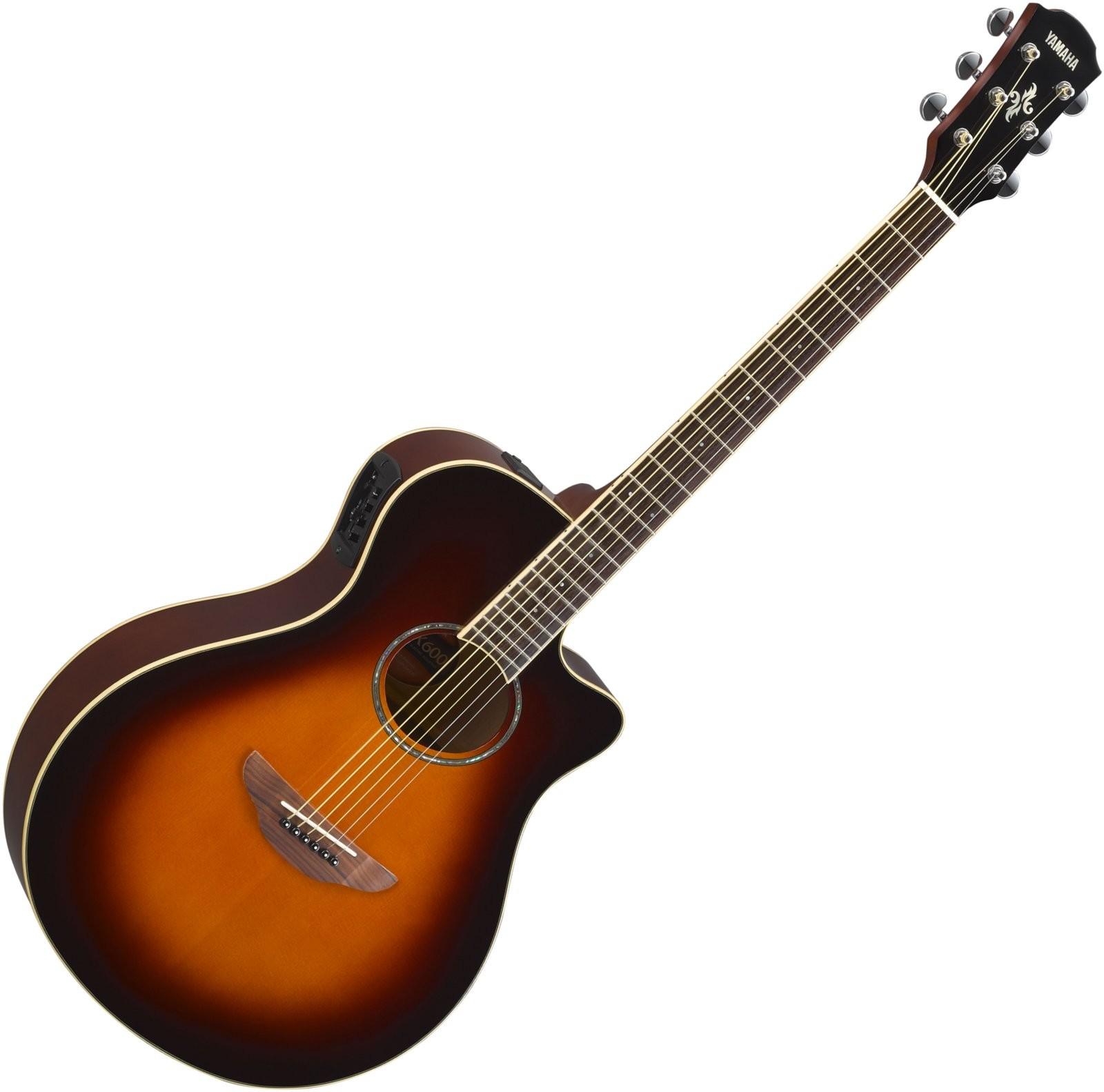 Yamaha CPX600 Old Violin Sunburst