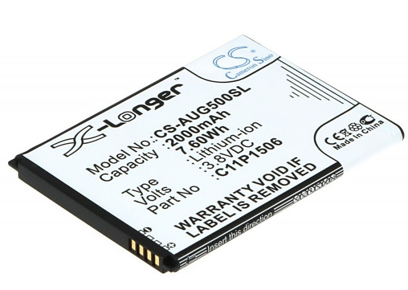 Cameron Sino Asus ZenFone Go 5.5 C11P1506 2000mAh 7.60Wh Li-Ion 3.8V