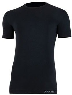 SPAIO T-shirt męski Relieve W01 Black 5901282270707