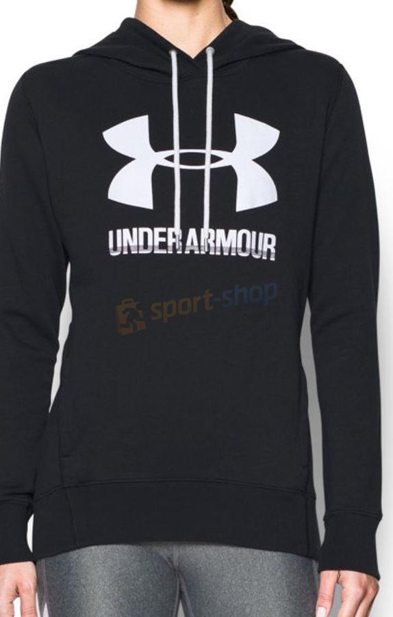 Under Armour Bluza damska Favorite Fleece PO czarna) 12h 1302360-001