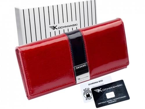Kochmanski Studio Kreacji Studio Kreacji portfel damski skórzany PREMIUM 4141