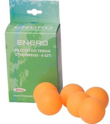 Pilki ENERO do tenisa stołowego ENERO Pomarańczowy
