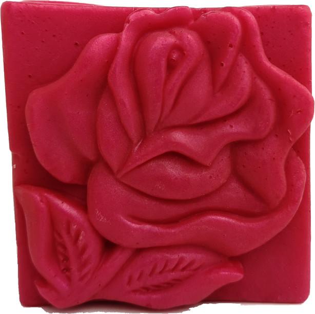 Bio Fresh - Mydło różane kwadratowe - 80 g