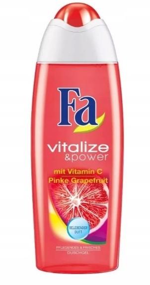 Fa Vitalize & Power, Żel pod prysznic, 250 ml
