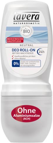 Lavera NEUTRAL 24 h Dezodorant roll-on z bio-wiesiołkiem 168 108019
