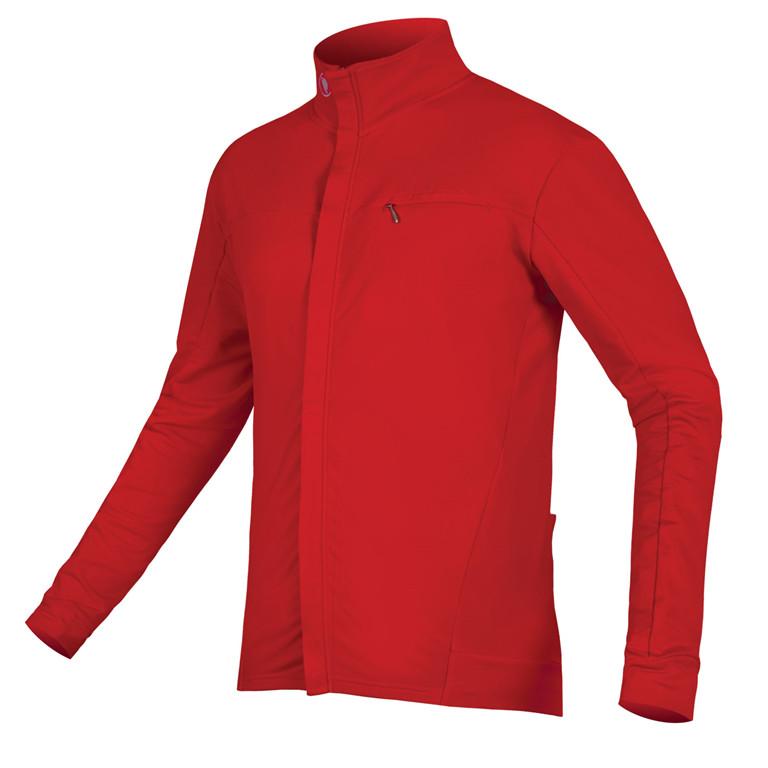 Endura Bluza Xtract Roubaix czerwony / Rozmiar: XL E3134RD/6
