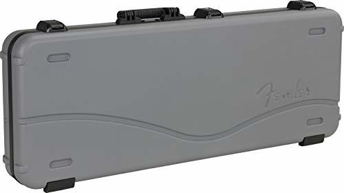 Fender DELUXE MOLDED STRAT/TELE CASE twarda walizka na gitarę elektryczną - kolor: Inca Silver 996102324