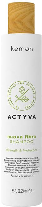Kemon Actyva Nuova Fibra, szampon wzmacniający do włosów cienkich i delikatnych, 250 ml