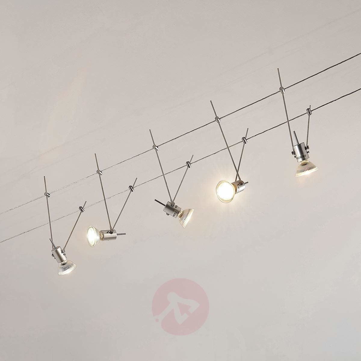 Lampenwelt com System linkowy LED Marno, 5-punktowy