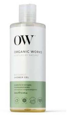 Organic Works Works organiczny nawilżający żel pod prysznic Bergamotka 300ml