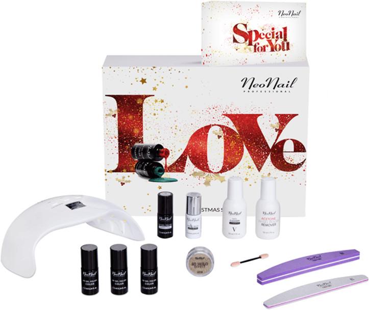 Neonail Love Christmas Set Zestaw świąteczny