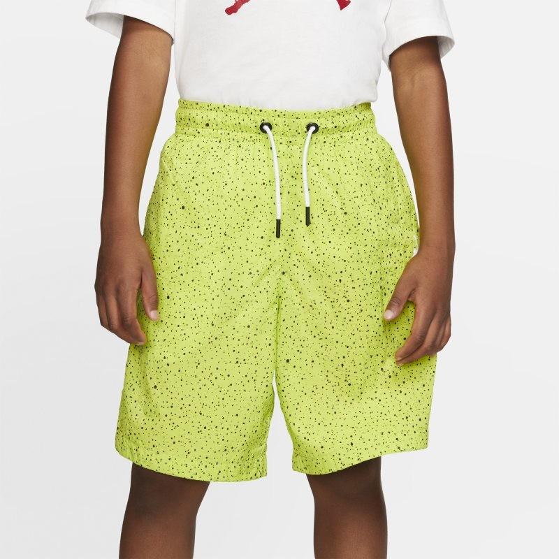 Nike Spodenki basenowe dla dużych dzieci (chłopców) Jordan Flight - Zieleń