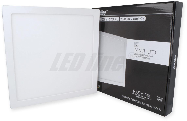 Led line Panel EasyFix kwadrat 24W 2300lm 4000K biała dzienna 249488