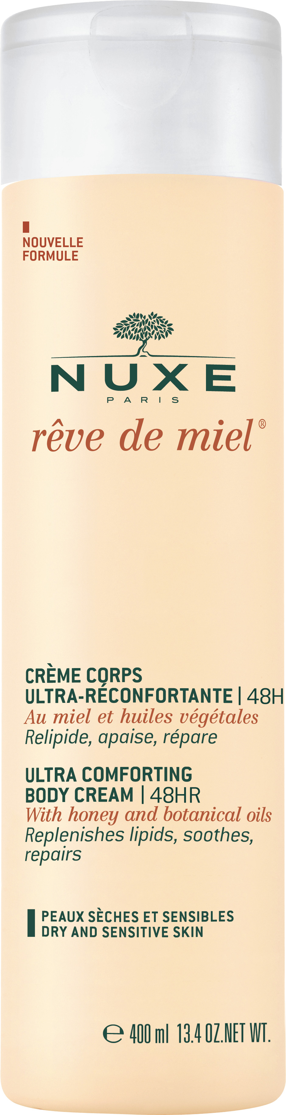 Nuxe Reve de Miel Creme Corps Ultra-Reconfortante 48H Balsam do ciała 400 ml