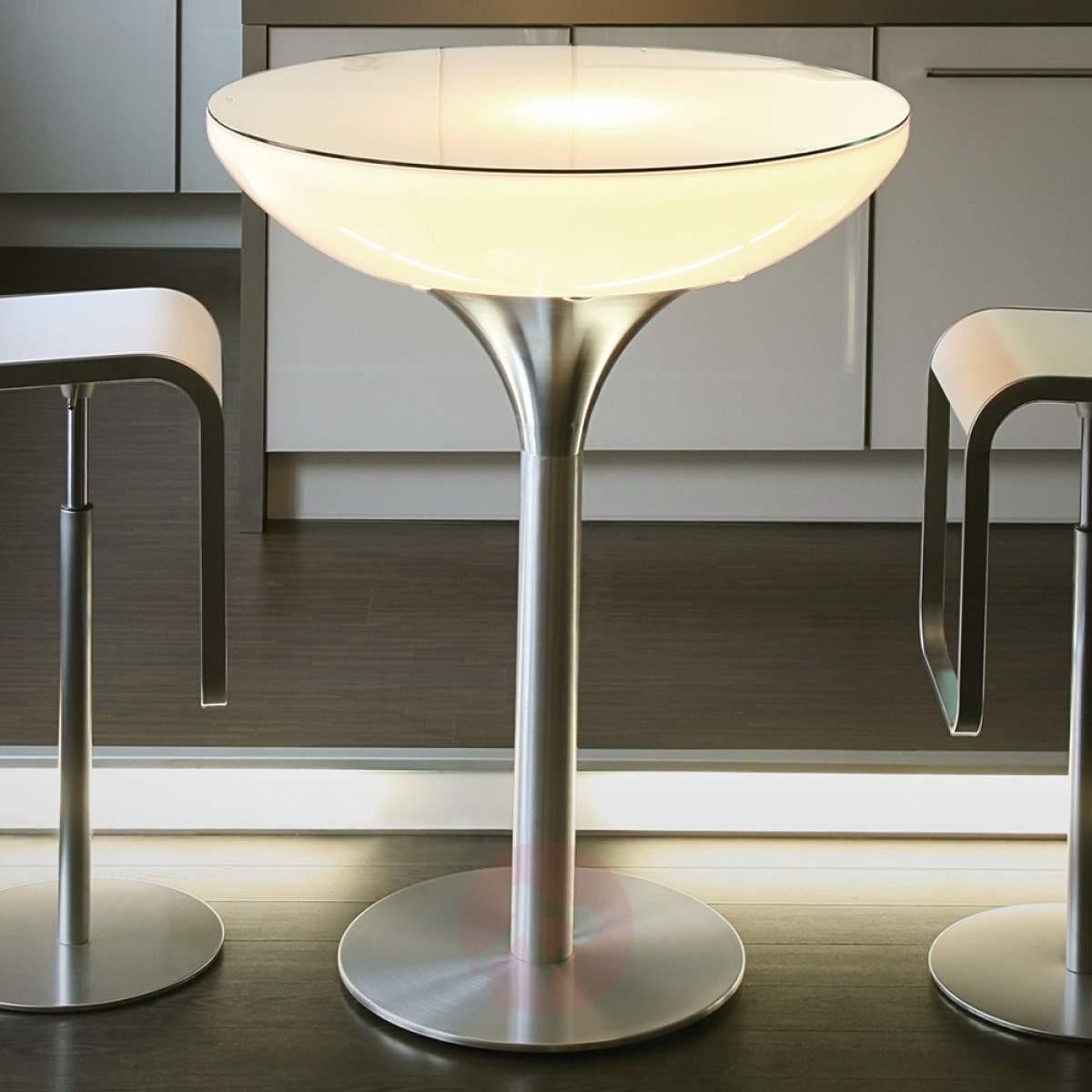 Moree Akumulatorowy stół LOUNGE, wysokość 105 cm, LED