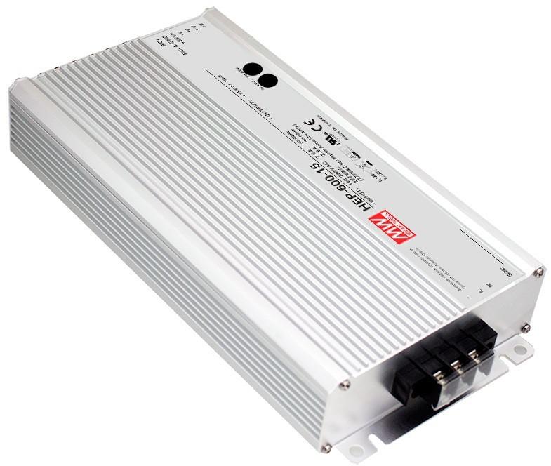 Mean Well Zasilacz LED HEP-600-12 600W 12V 40A