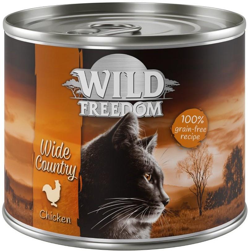 Wild Freedom Wild Freedom Adult, 6 x 200 g - Zestaw mieszany