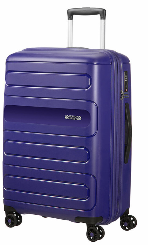 1991f400a08f8 American Tourister Średnia walizka 51G*00002 granatowa 51G*41002