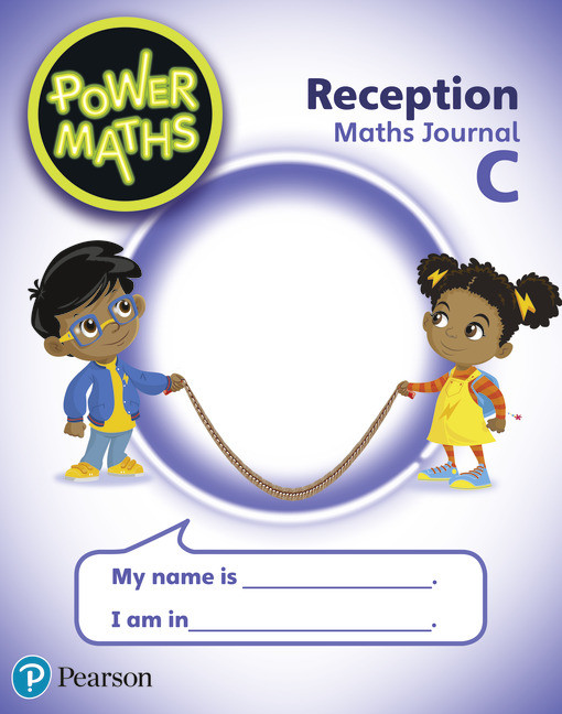 Pearson Power Maths Reception Pupil Journal C Tony Staneff, Beth Smith