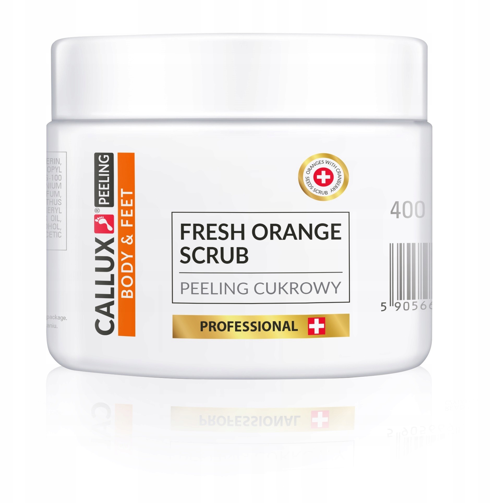 Callux Peeling cukrowy 400g Orange