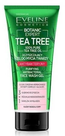 Eveline Eveline TEA TREE Antybakteryjny oczyszczający żel do mycia twarzy 175ml 52958-uniw