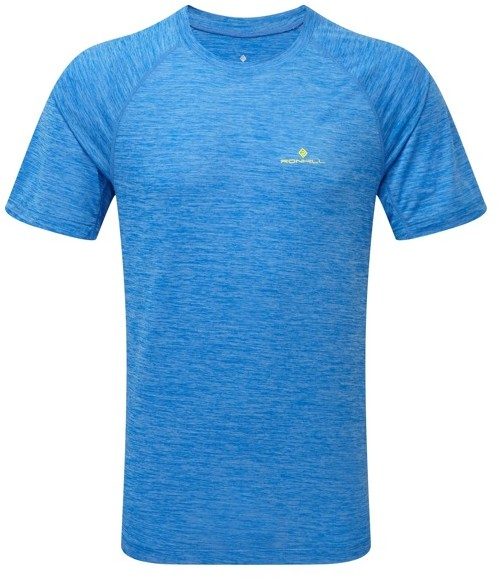 RONHILL RONHILL koszulka biegowa męska MOMENTUM S/S TEE błękitna