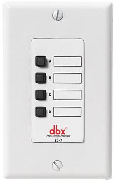 dbx ZC8 - kontroler procesora dźwięku