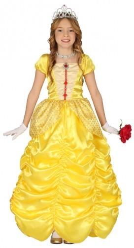 PARTY WORLD Kostium dla dziewczynki Piękna Księżniczka Bella HIGH QUALITY KG/9068DZ