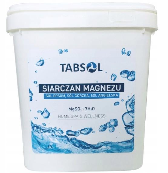 Siarczan Magnezu sól epsom angielska gorzka 5kg
