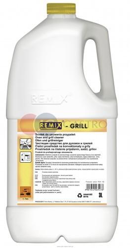 Reinex Środek do usuwania zapieczonego tłuszczu 5 l Remix Grill Remix Grill 5l