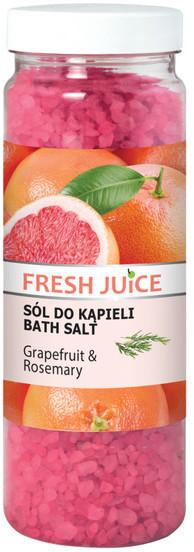 Fresh Juice Grapefruit & Rosemary Sól do kąpieli 700g