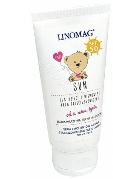 Ziołolek Linomag SUN krem dla dzieci SPF50+ 50ml