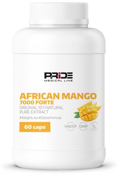 PRIDE African Mango 7000 Forte 60kaps