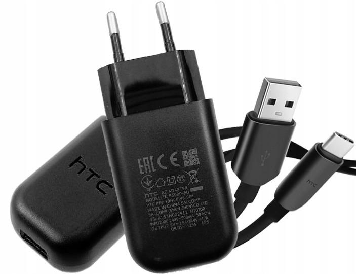 HTC Oryginalna Ładowarka Typ C Q3 P5000 One A9 10