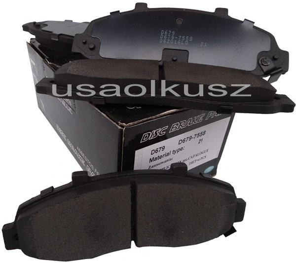 UAP Klocki hamulcowe przednie Lincoln Blackwood 5,4 V8 2002-2003 xxx