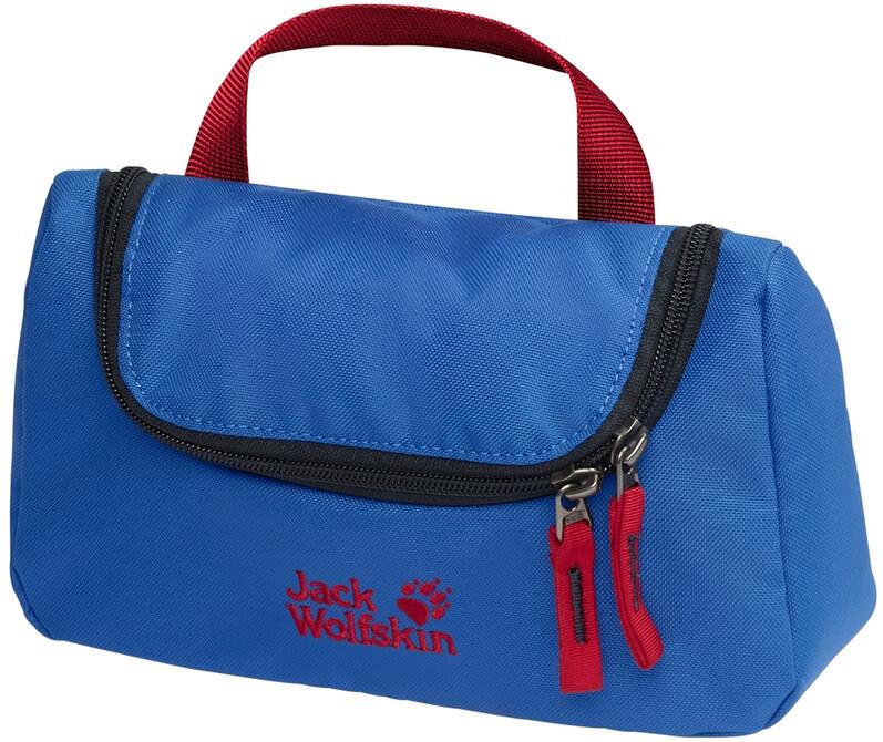 Jack Wolfskin Washroom Kosmetyczka Dzieci, coastal blue 2020 Kosmetyczki 8002512-1201