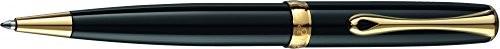 Diplomat d40203040Excellence A2Trim długopis, schwarzlack/złoty D40203040