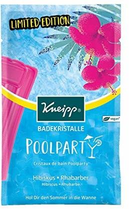 Kneipp kryształki do kąpieli na imprezę przy basenie, 12 sztuk w opakowaniu (12 x 60 g) 915715