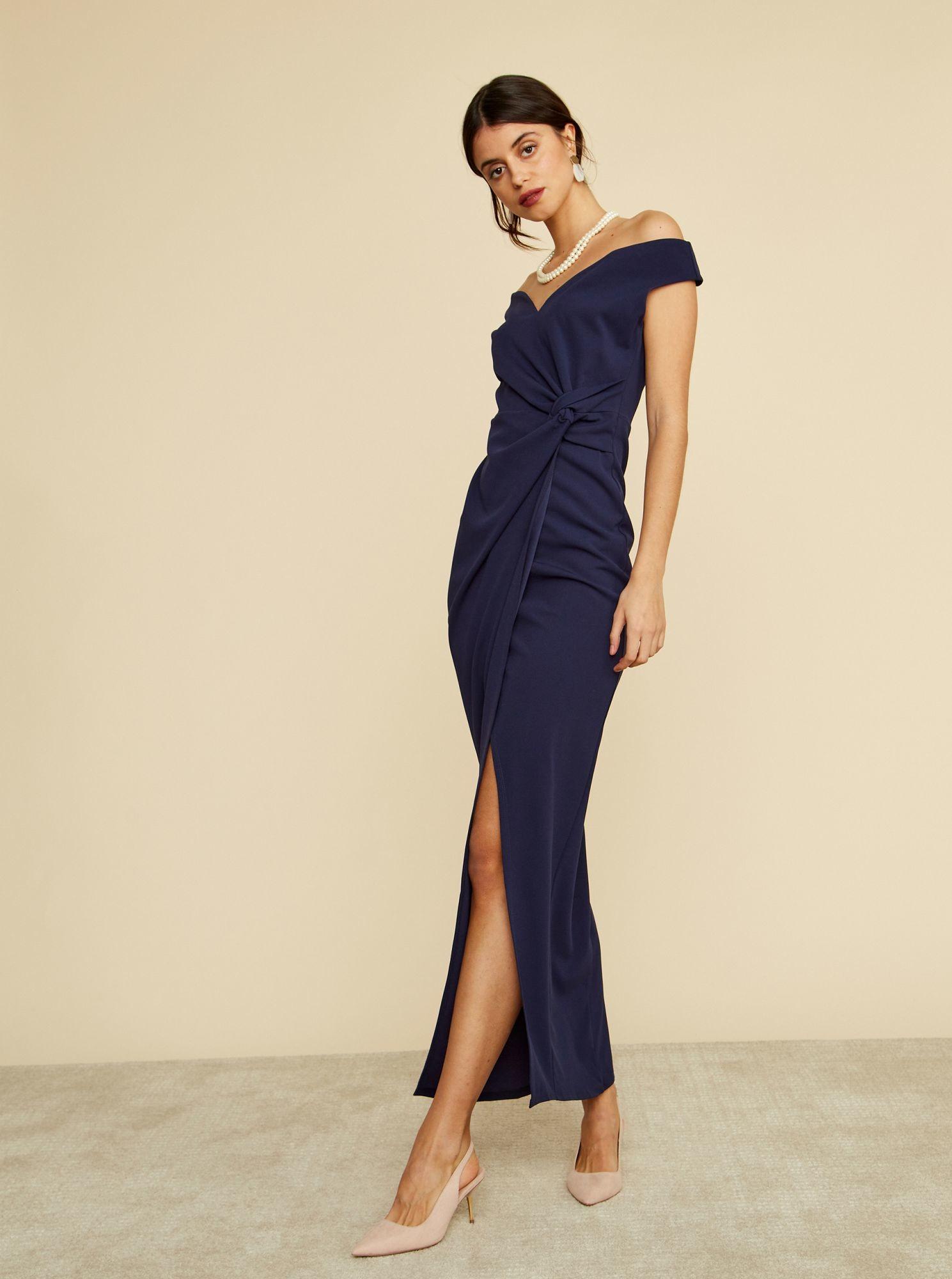 ZOOT ZOOT niebieski maxi sukienka Lydia - S 7100025200492