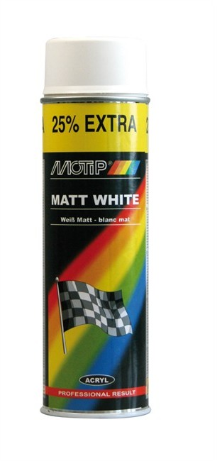 Motip Lakier Biały Połysk M04004 500ml