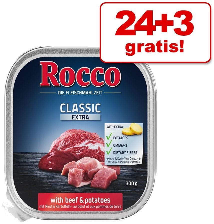 Rocco Zestaw Classic Extra tacki, 27 x 300 g - Wołowina z ziemniakami